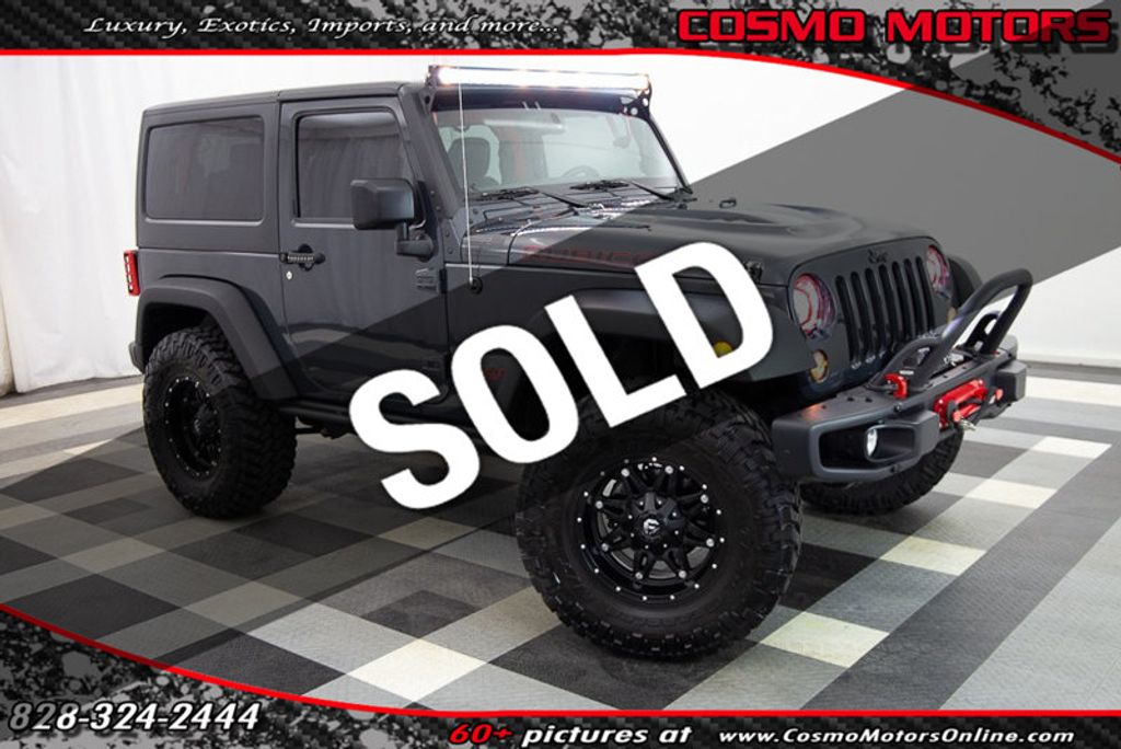 2016 Jeep Wrangler 4WD 2dr Rubicon Hard Rock - 18382553 - 0