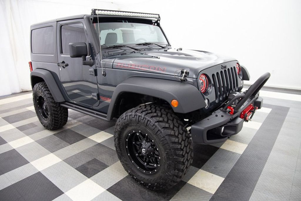 2016 Jeep Wrangler 4WD 2dr Rubicon Hard Rock - 18382553 - 2