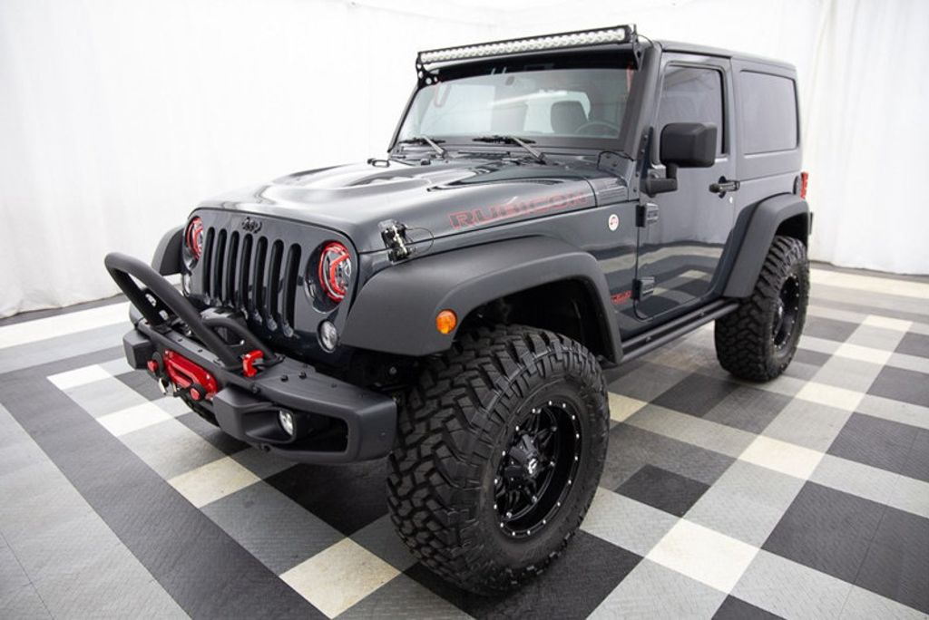 2016 Jeep Wrangler 4WD 2dr Rubicon Hard Rock - 18382553 - 3
