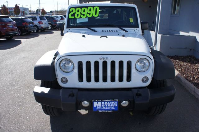 2016 Jeep Wrangler 4WD 2dr Sport - 18232208 - 23