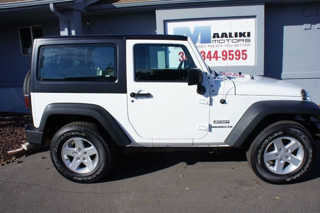 2016 Jeep Wrangler 4WD 2dr Sport - 18232208 - 2