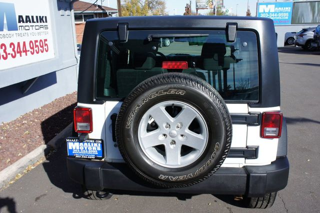 2016 Jeep Wrangler 4WD 2dr Sport - 18232208 - 4