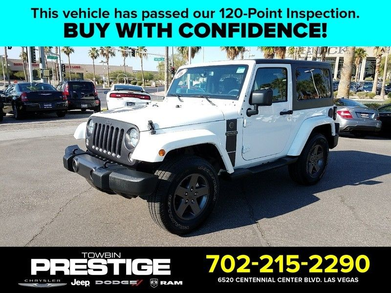 2016 Jeep Wrangler 4WD 2dr Sport - 16730571 - 0