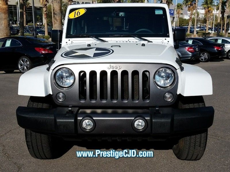 2016 Jeep Wrangler 4WD 2dr Sport - 16730571 - 1