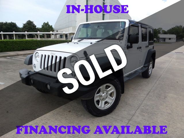 2016 Jeep Wrangler Unlimited 2016 Jeep Wrangler RHD with 4WD, 2-Owner, 139k, Extra Clean!!
