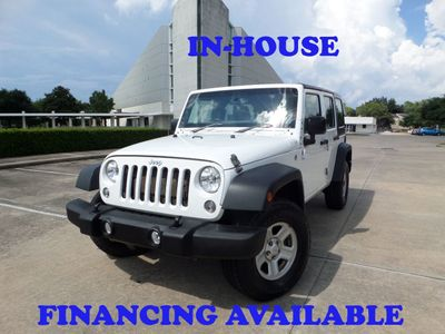2016 Jeep Wrangler Unlimited 2016 Jeep Wrangler Sport RHD with 4WD, 4DR, 1-Owner, Extra Clean SUV