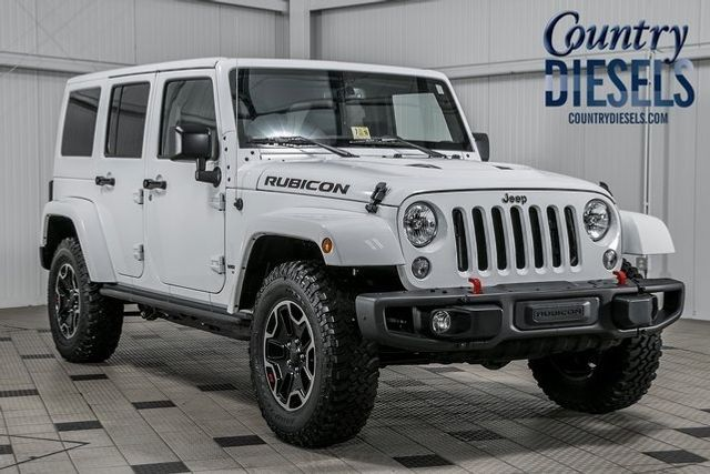 Jeep Wrangler Dealership >> 2016 Used Jeep Wrangler Unlimited 4WD 4dr Rubicon at Country Diesels Serving Warrenton, VA, IID ...