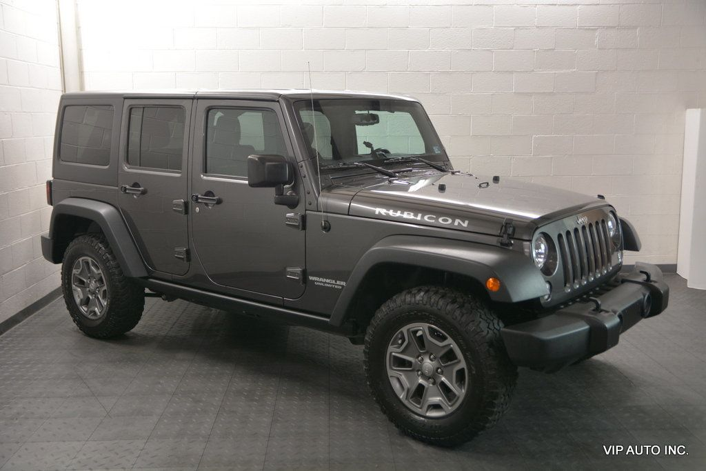Jeep Wrangler Unlimited 4WD 4dr Rubicon