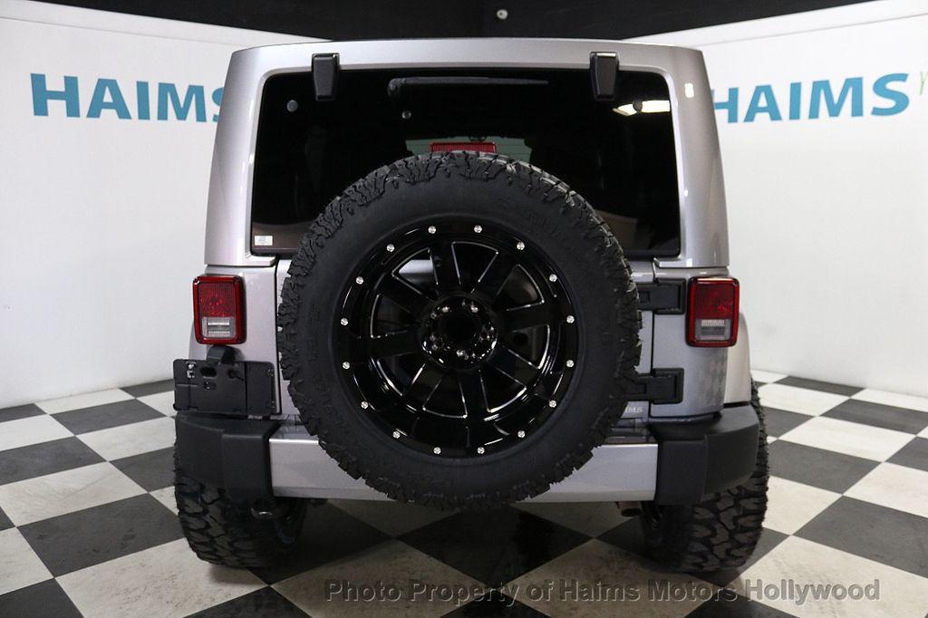 2016 Jeep Wrangler Unlimited 4WD 4dr Sahara - 17474880 - 14