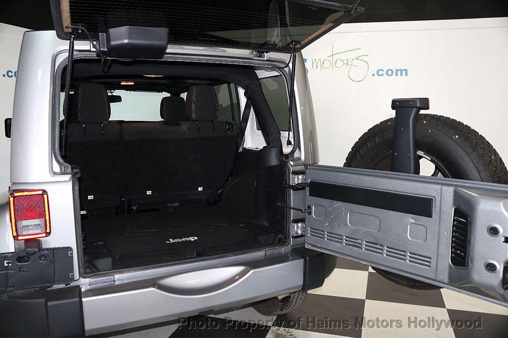 2016 Jeep Wrangler Unlimited 4WD 4dr Sahara - 17474880 - 20