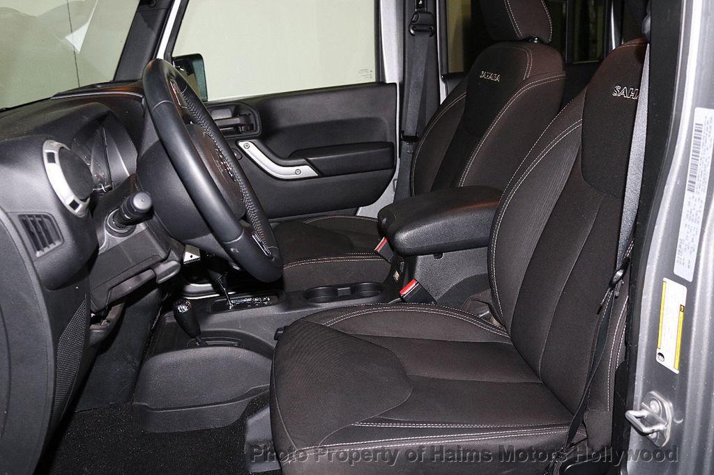 2016 Jeep Wrangler Unlimited 4WD 4dr Sahara - 17474880 - 28
