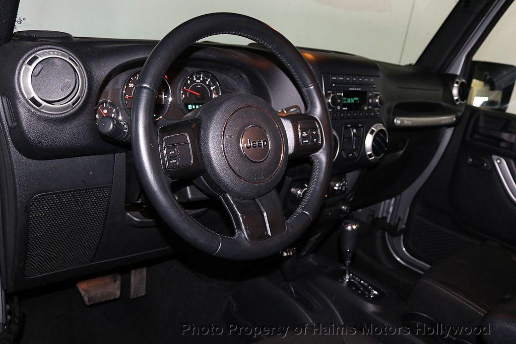 2016 Jeep Wrangler Unlimited 4WD 4dr Sahara - 17474880 - 29