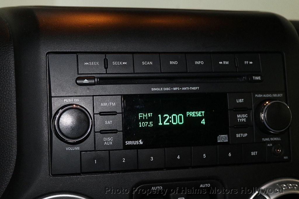 2016 Jeep Wrangler Unlimited 4WD 4dr Sahara - 17474880 - 31