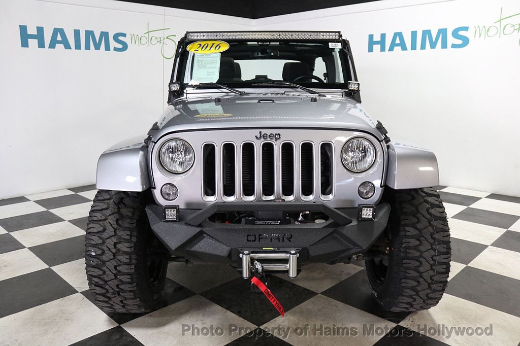 2016 Jeep Wrangler Unlimited 4WD 4dr Sahara - 17474880 - 3