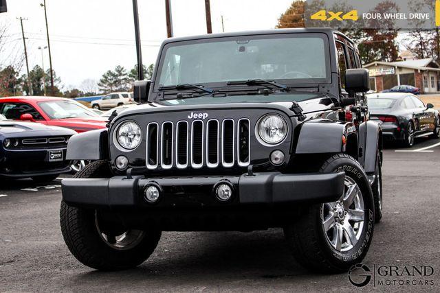 2016 Jeep Wrangler Sahara >> 2016 Used Jeep Wrangler Unlimited 4wd 4dr Sahara At Grand Motorcars Serving Marietta Ga Iid 19542795