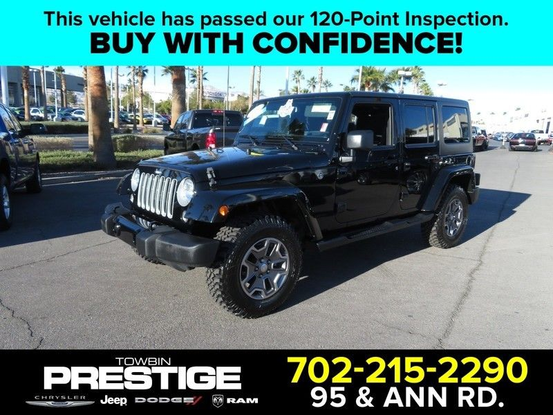 2016 Jeep Wrangler Unlimited 4WD 4dr Sahara - 17210098 - 0