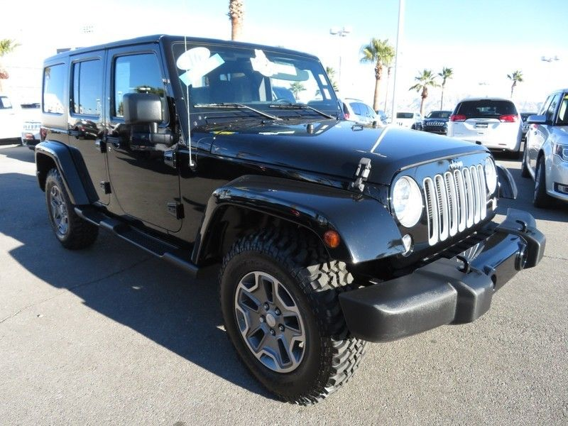 2016 Jeep Wrangler Unlimited 4WD 4dr Sahara - 17210098 - 2