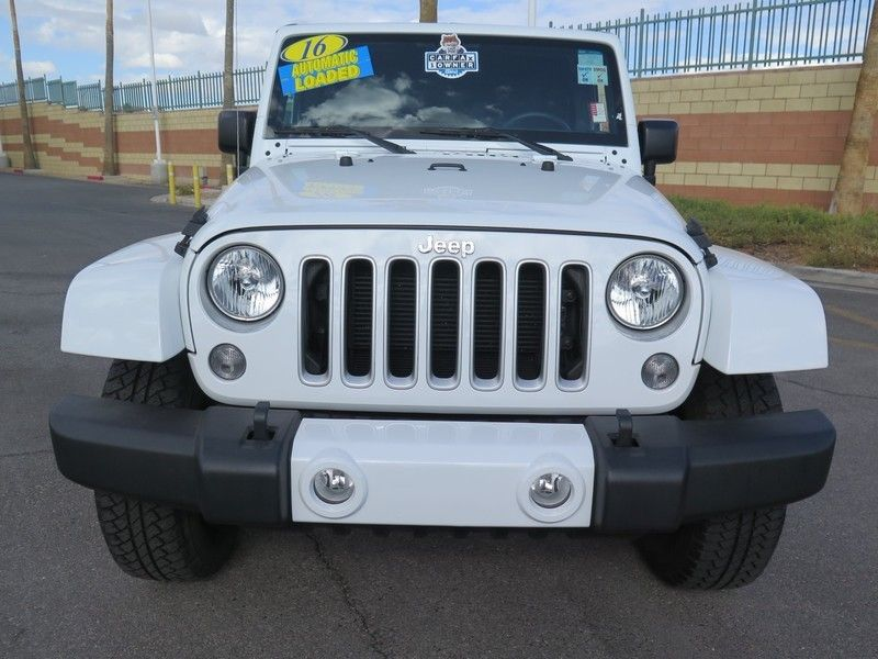 2016 Jeep Wrangler Unlimited 4WD 4dr Sahara - 17311388 - 1