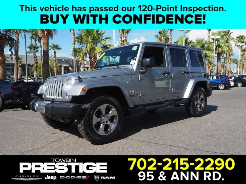 2016 Jeep Wrangler Unlimited 4wd 4dr Sahara 17999306 0