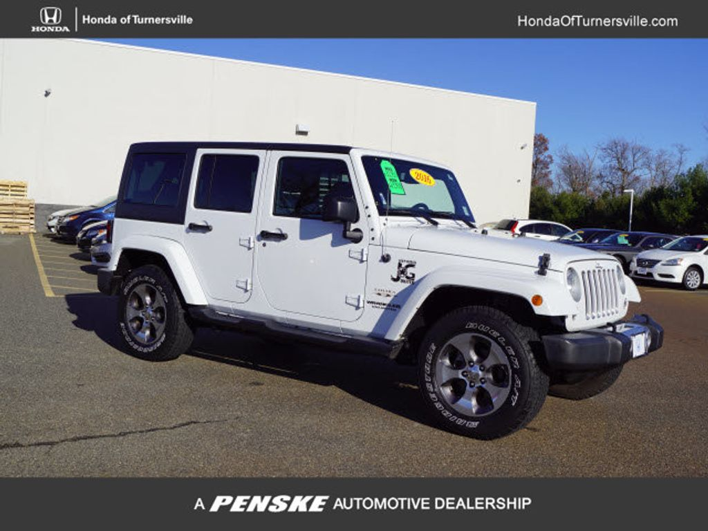 Jeep Dealers South Jersey >> 2016 Used Jeep Wrangler Unlimited 4wd 4dr Sahara At Turnersville Automall Serving South Jersey Nj Iid 19638563