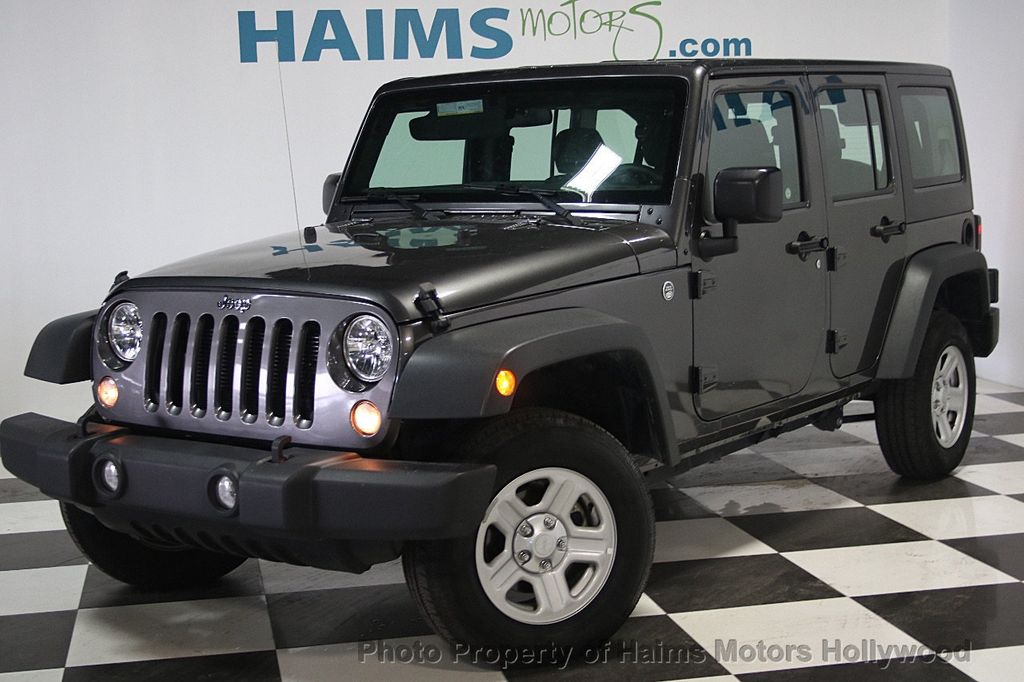 2016 Jeep Wrangler Unlimited 4WD 4dr Sport - 16803467 - 1