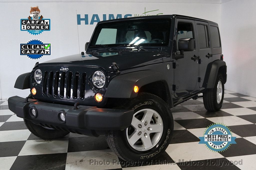 2016 Jeep Wrangler Unlimited 4WD 4dr Sport - 17525682 - 0