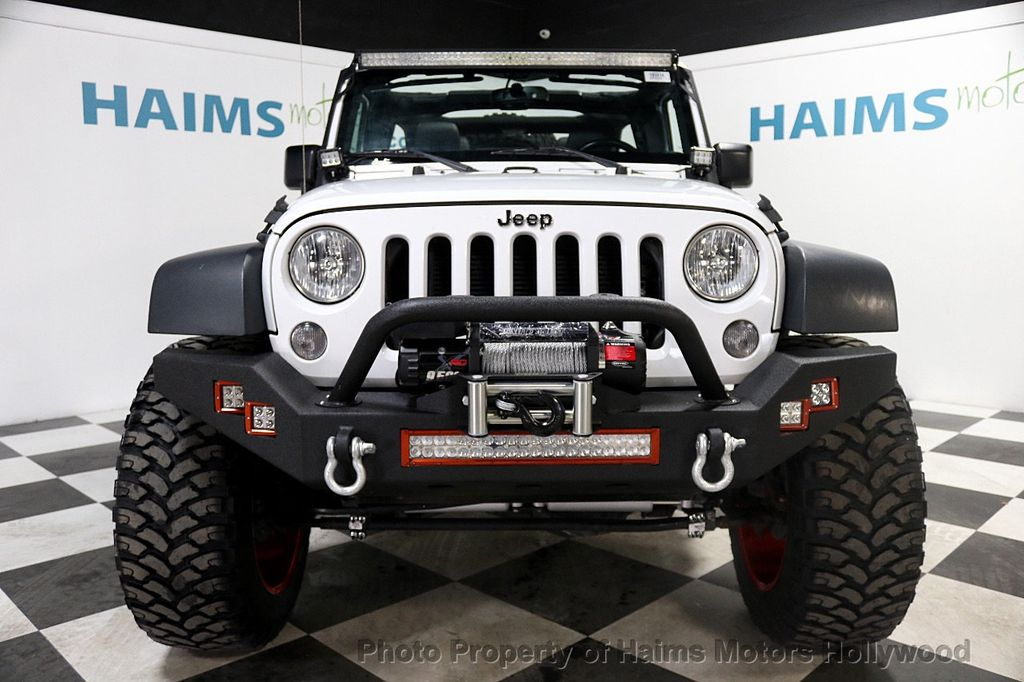 2016 Jeep Wrangler Unlimited 4WD 4dr Sport - 17774413 - 12
