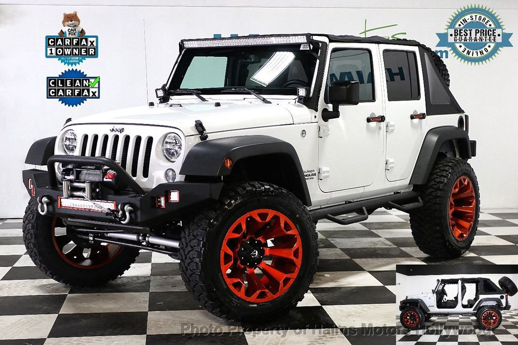 2016 Jeep Wrangler Unlimited 4WD 4dr Sport - 17774413 - 1