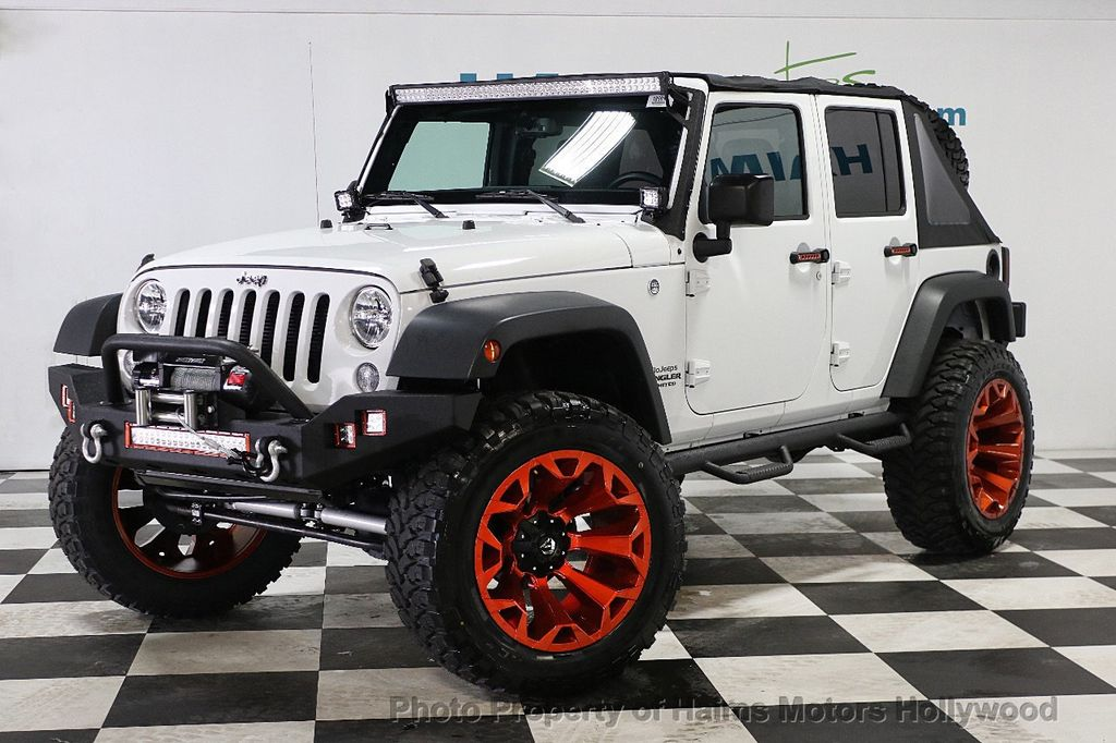2016 Jeep Wrangler Unlimited 4WD 4dr Sport - 17774413 - 2