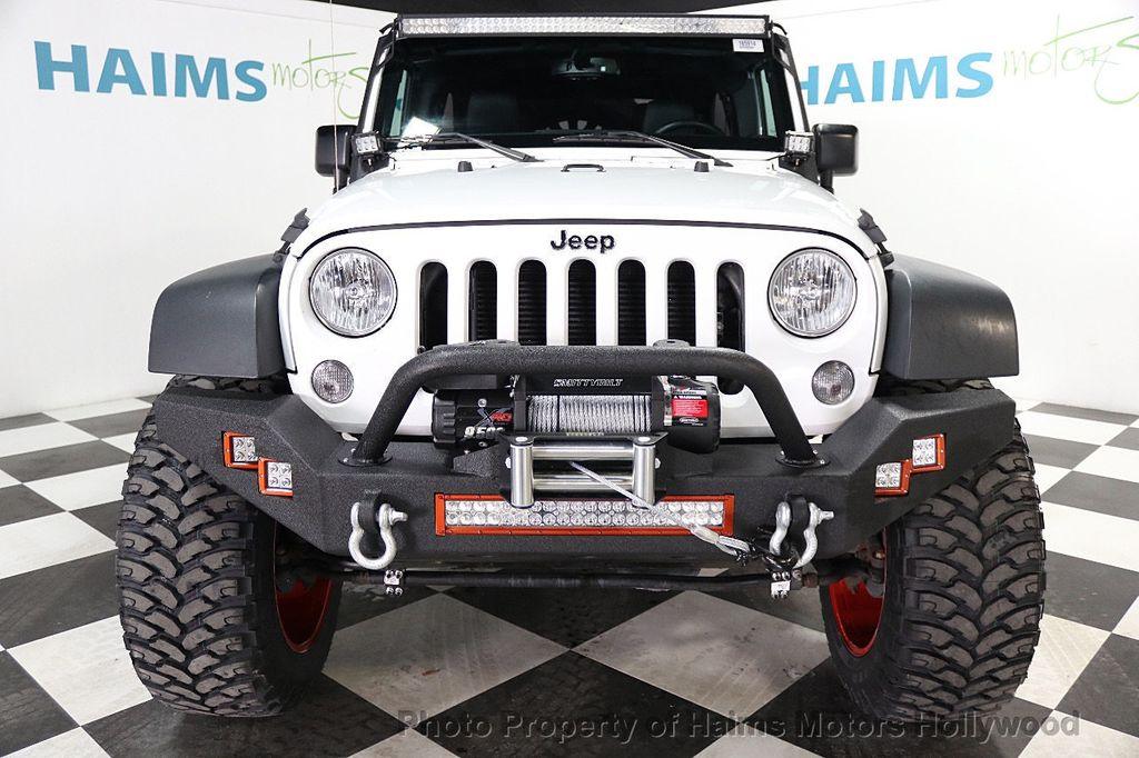 2016 Jeep Wrangler Unlimited 4WD 4dr Sport - 17774413 - 3