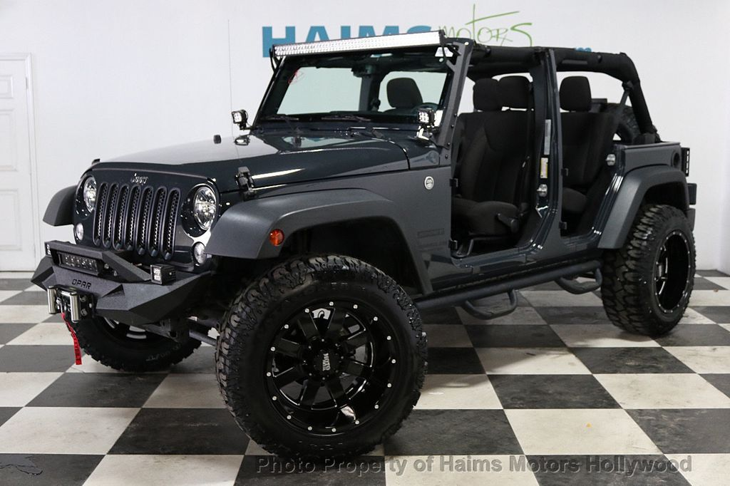 2016 Jeep Wrangler Unlimited 4WD 4dr Sport - 18032893 - 2