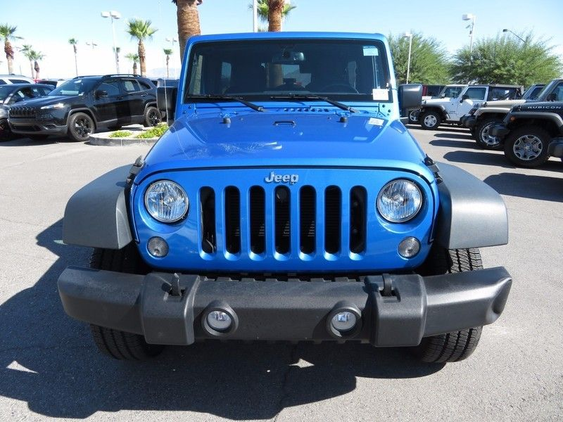 2016 Jeep Wrangler Unlimited 4WD 4dr Sport - 16841877 - 1