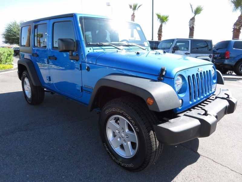 2016 Jeep Wrangler Unlimited 4WD 4dr Sport - 16841877 - 2
