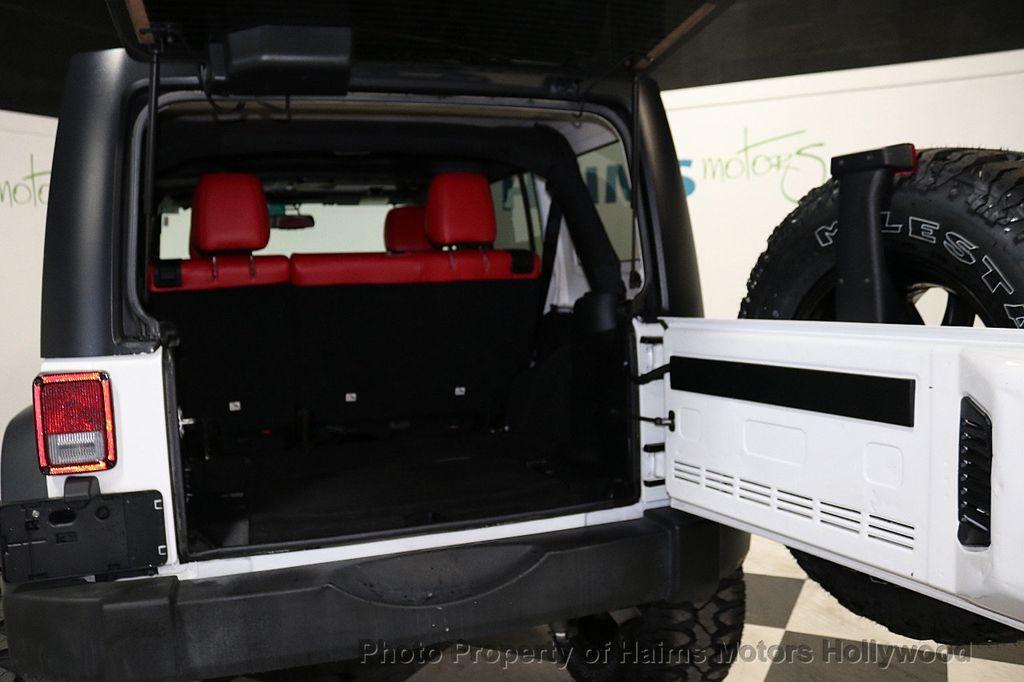 2016 Jeep Wrangler Unlimited 4WD 4dr Sport RHD - 18311743 - 20