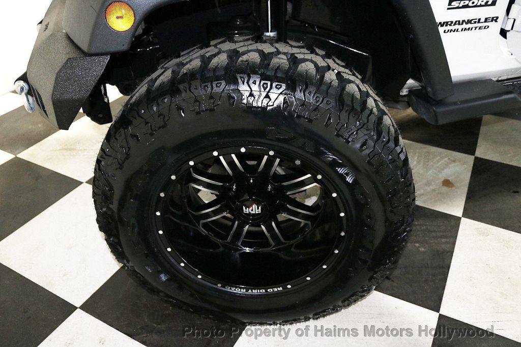 2016 Jeep Wrangler Unlimited 4WD 4dr Sport RHD - 18311743 - 42