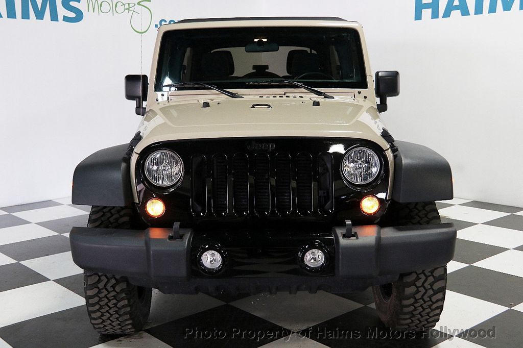 2016 Used Jeep Wrangler Unlimited 4WD 4dr Willys Wheeler ...