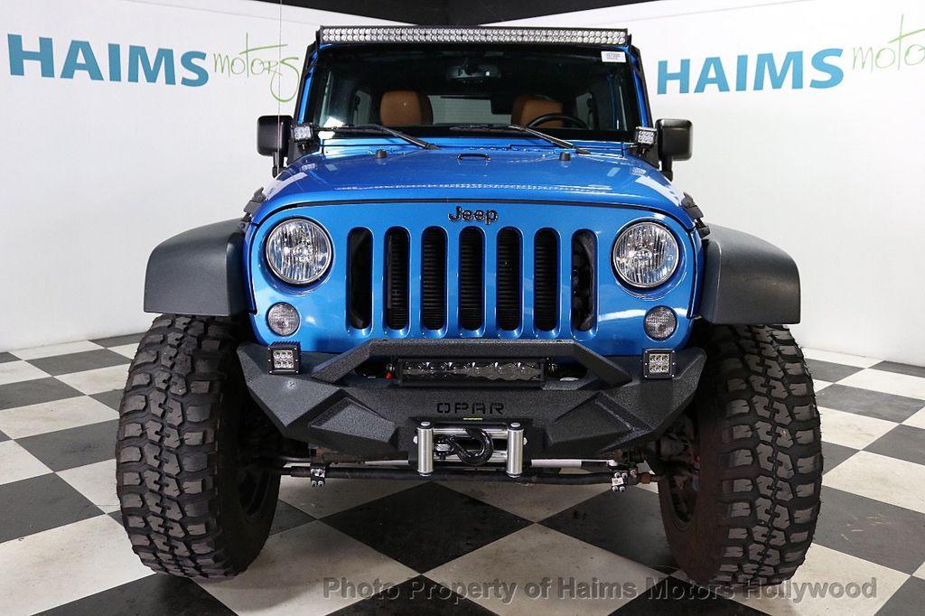 2016 Jeep Wrangler Unlimited CUSTOM JEEP - 18032912 - 11
