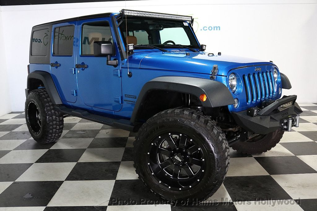 2016 Jeep Wrangler Unlimited CUSTOM JEEP - 18032912 - 12