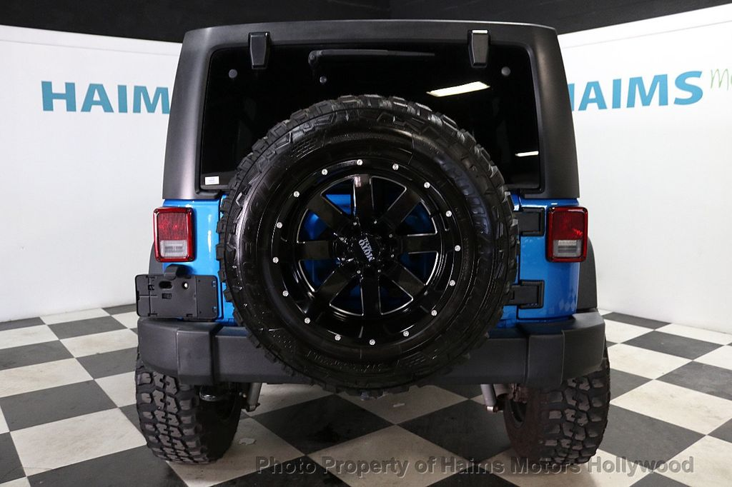 2016 Jeep Wrangler Unlimited CUSTOM JEEP - 18032912 - 13