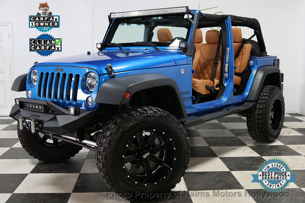 2016 Jeep Wrangler Unlimited CUSTOM JEEP - 18032912 - 1