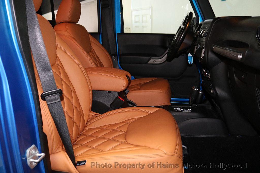 2016 Jeep Wrangler Unlimited CUSTOM JEEP - 18032912 - 25