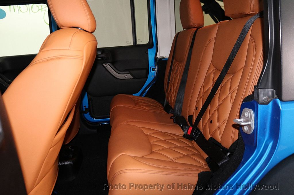 2016 Jeep Wrangler Unlimited CUSTOM JEEP - 18032912 - 27