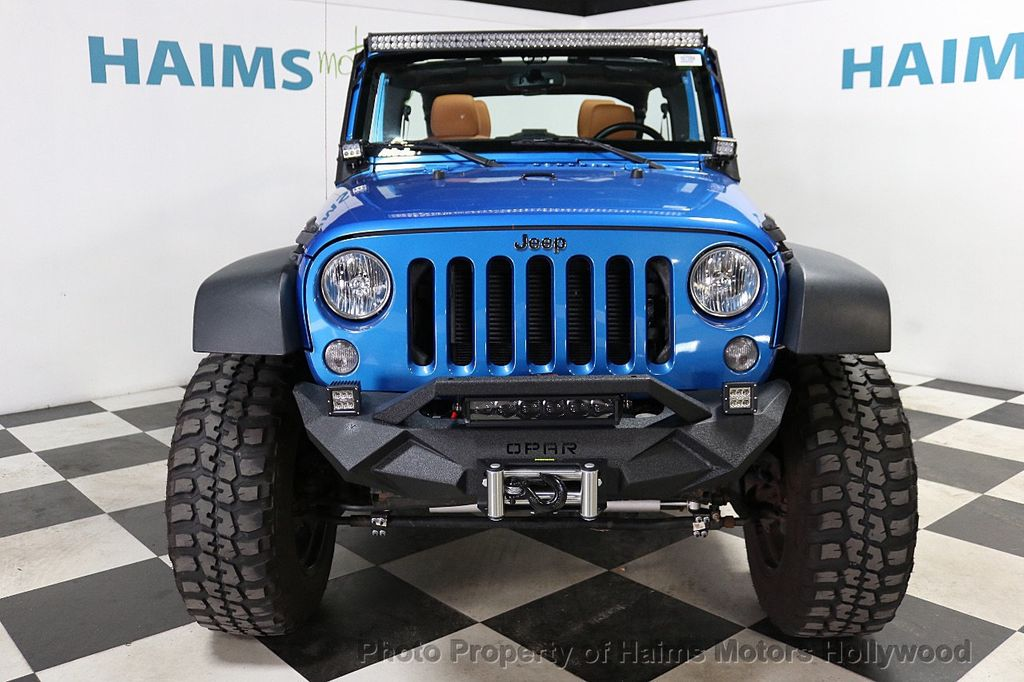 2016 Jeep Wrangler Unlimited CUSTOM JEEP - 18032912 - 3