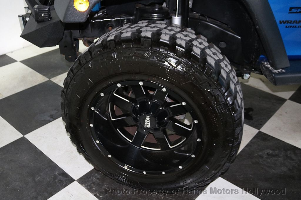 2016 Jeep Wrangler Unlimited CUSTOM JEEP - 18032912 - 39