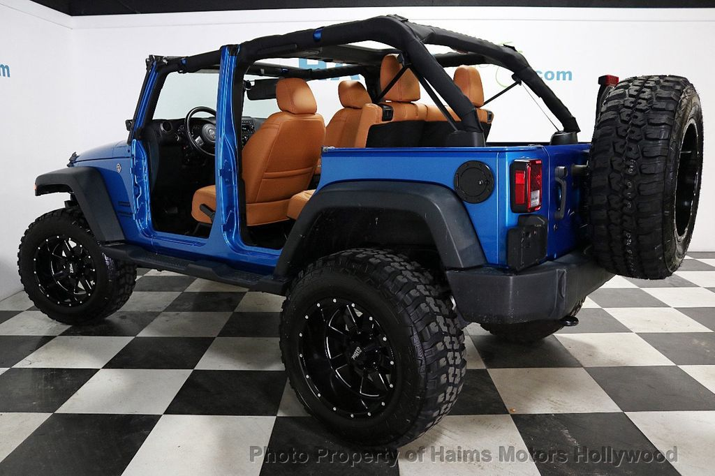 2016 Jeep Wrangler Unlimited CUSTOM JEEP - 18032912 - 5