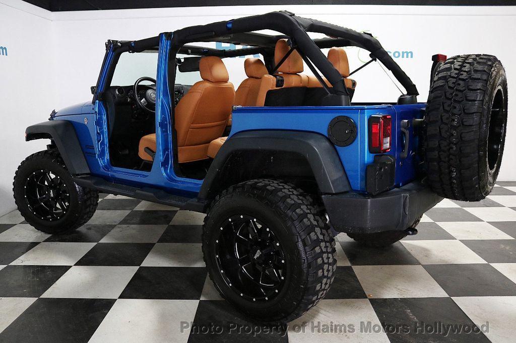 2016 Jeep Wrangler Unlimited CUSTOM JEEP - 18032912 - 5