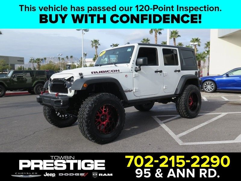 2016 Jeep Wrangler Unlimited UNLIMITED RUBICON - 17407049 - 0