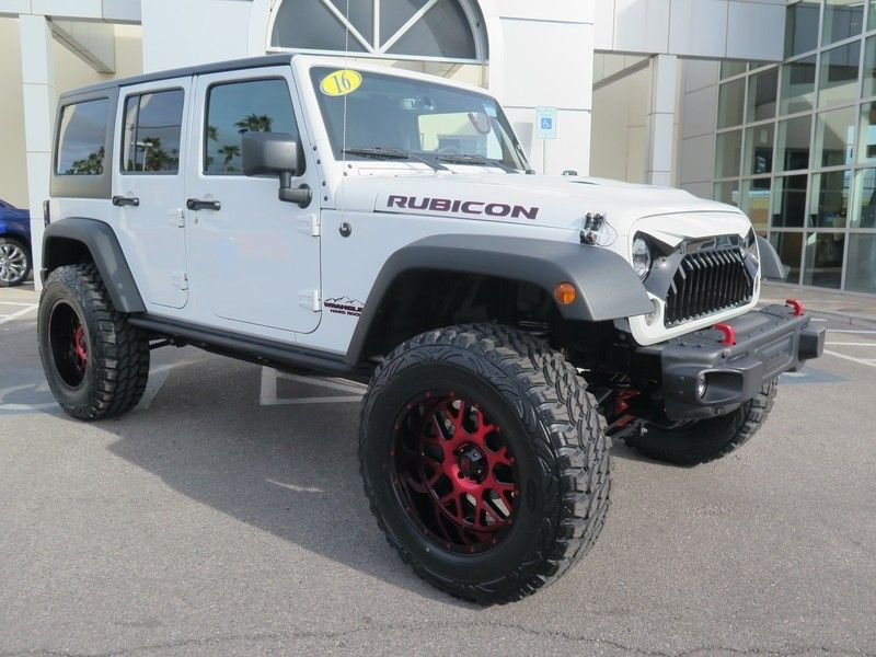 2016 Jeep Wrangler Unlimited UNLIMITED RUBICON - 17407049 - 2