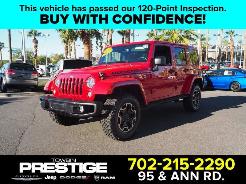 2016 Jeep Wrangler Unlimited UNLIMITED RUBICON - 17999387 - 0