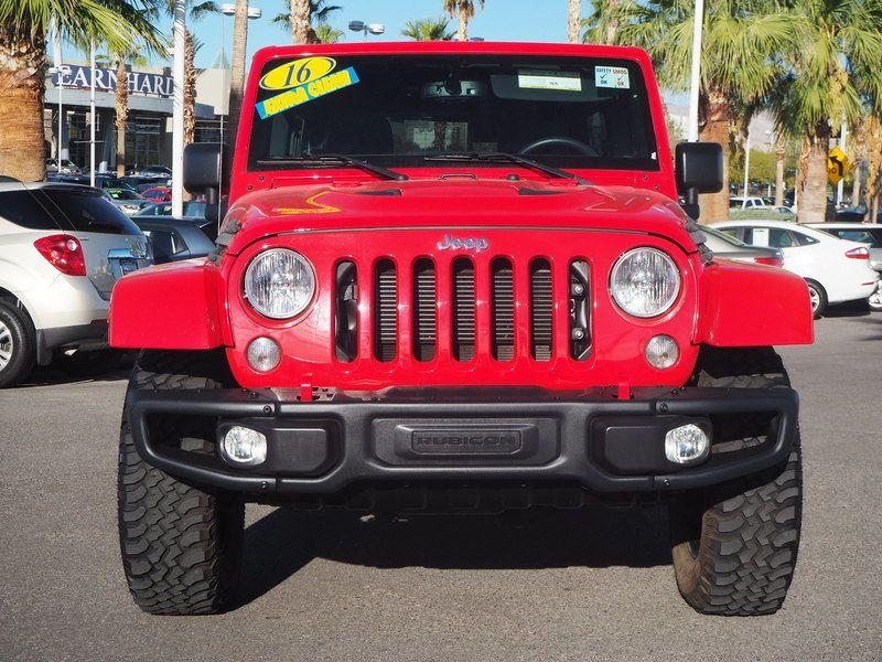 2016 Jeep Wrangler Unlimited UNLIMITED RUBICON - 17999387 - 1